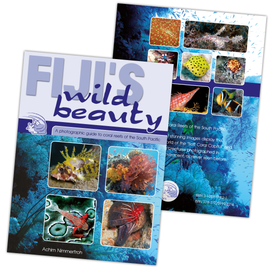 The book - Fiji's Wild Beauty
